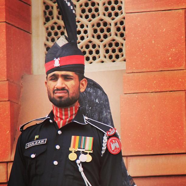 Guard | Tomb of Allama Iqbal | Near Lahore Fort, Badshahi Mashid | Old Lahore City, Punjab Province PAK