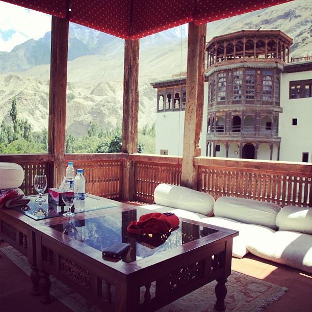 Bersantap di Singgahsana | Khaplu Palace & Residences | Khaplu Valley, Baltistan, Northern PAK