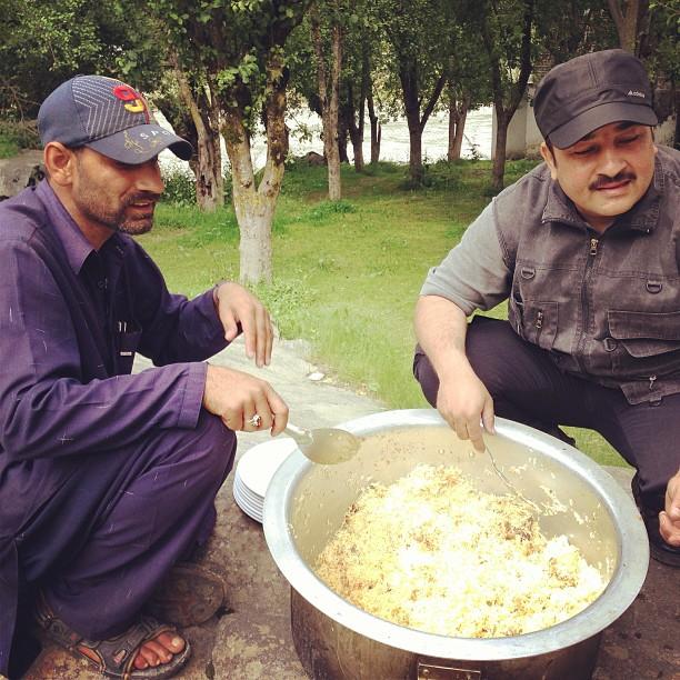 Chicken Biryani Festival | Keran Resort, Near Neelam River | Neelam Valley, Azad Jammu Kashmir PAK