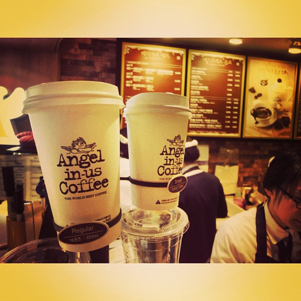 Angel in-us Coffee Cafe | Seoul, South Korea #ThrowBack