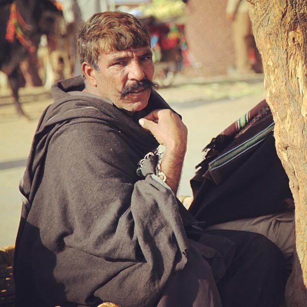 Pakcik Misai Bersantai Atas Charpay | Bakra Mandi, Near I10 | Isloo PAK