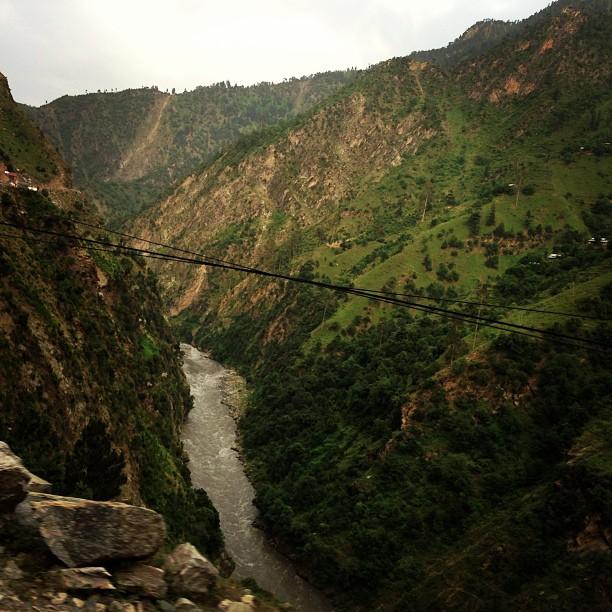 Entrance to Neelum Valley | Left Of the Neelum River Is Pakistan | India Is On Your Right | Neelum Valley, Azad Jammu Kashmir PAK