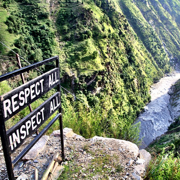 Respect All, Inspect All | Near Check Post at Kuttan | Azad Kashmir, PAK