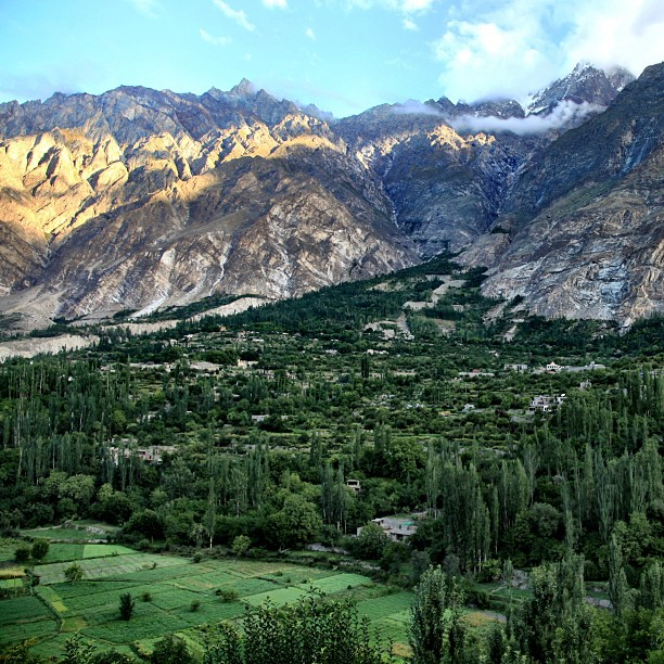 Normal View from Baltit Inn Hotel | Karimabad, Hunza Valley | Gilgit-Baltistan | Northern PAK