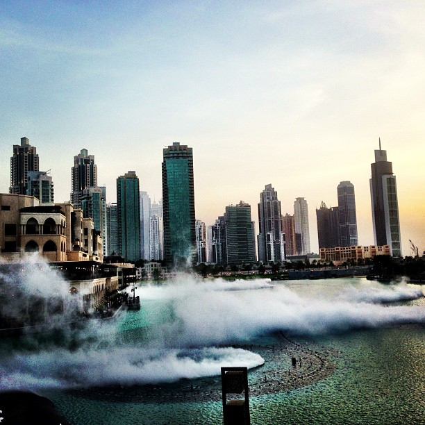 Smoke In The Water | The Fountain | Dubai Mall, Near Burj Khalifa | Dubai UAE