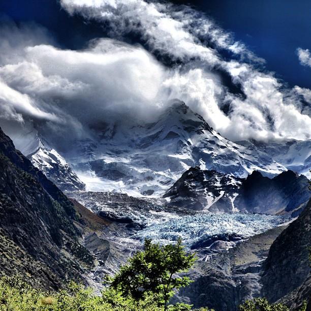 The Beautiful Mt Rakaposhi | Seen from Nagar Valley | Gilgit-Baltistan | Northern PAK