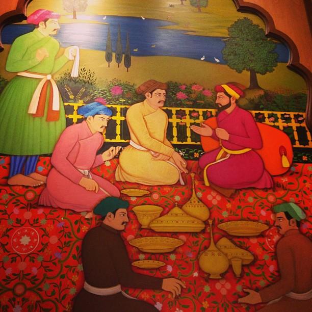 Artwork | Moghul Period | Avari Lobby | Lahore, Punjab Province PAK
