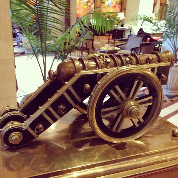 Zamzama Gun | Actual Size In Front of the Lahore Museum | Avari Hotel, Lahore | Punjab Province PAK