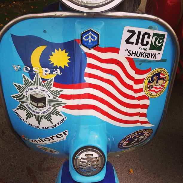 With The Malaysians - Jelajah Vespa Malaysia Mekah | Rumah Malaysia | Karachi PAK