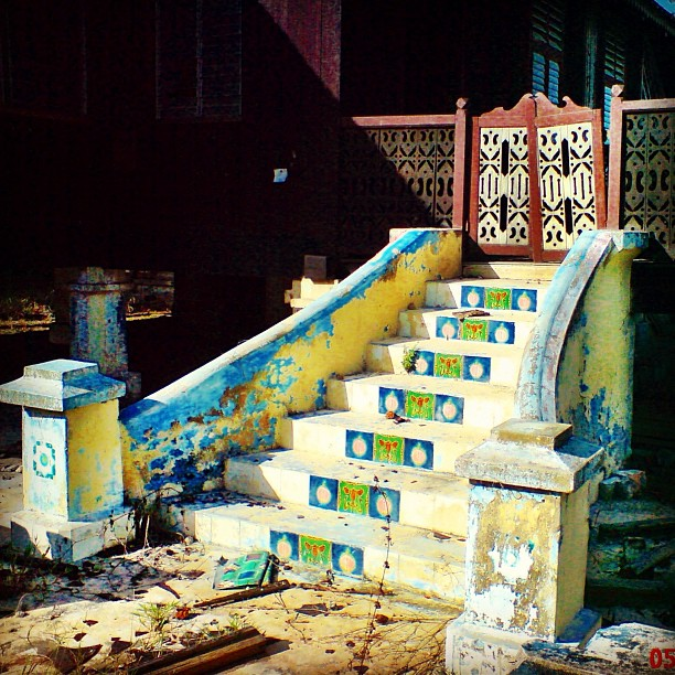 Tangga Melaka | Oh Indahnya Kenangan Di Rumah Kampung Ni | Kg Terentang, Jasin | Melaka Bandaraya Bersejarah | Melaka Maju 2010 | Malaysia Tanahayer Terchenta