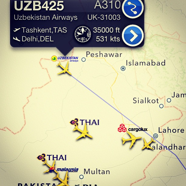 Flight Radar | Karachi PAK