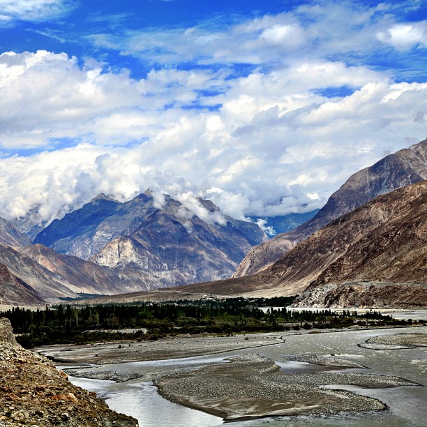 The Clouds & Mountains | Approaching Hunza Valley | Gilgit-Baltistan, Northern PAK