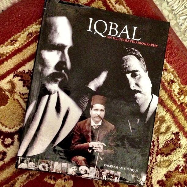 Iqbal - An Illustrated Biography by Khurram Ali Shafique | #EhTerbeli Buku Lagi ! | Saeed Book Bank, Jinnah Super F7 | Islamabad, Pakistan