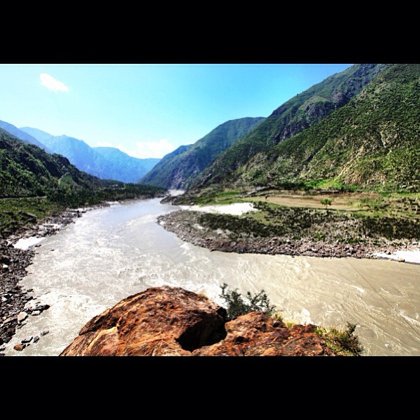 The Mighty Indus River | Near The Karakoram Highway Monument | Karakoram Highway | Indus Kohistan Region | Khyber Pakhtoonkhwa Province, Pakistan