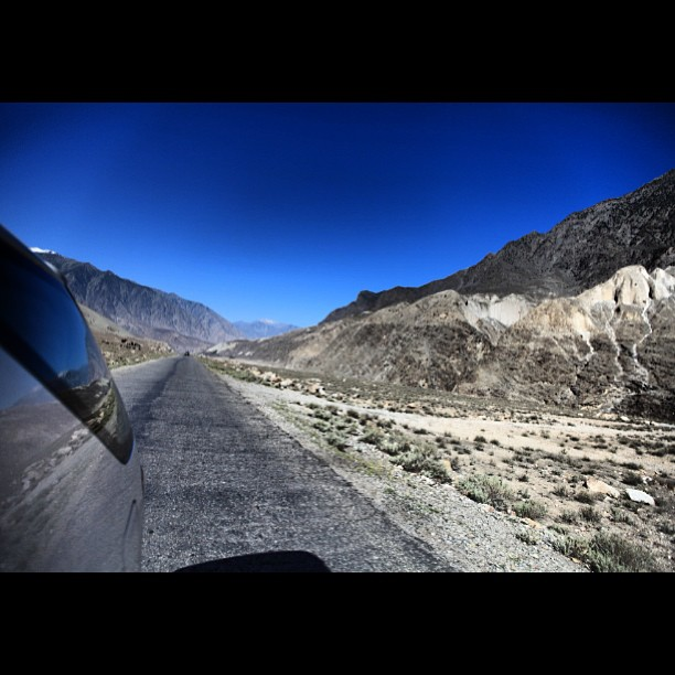 Selamat Tinggal Chilas Town | Selamat Datang Raikot Valley | Karakoram Highway | Approaching Raikot Valley | Northern Pakistan