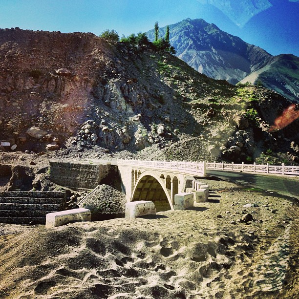 Another Bridge Connecting the Karakoram Highway | Near Raikot Valley | Gilgit Baltistan | Northern Pakistan