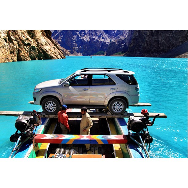 Adnan the Boat Owner Had a Serious Meeting with the Tariq the Fortuner Driver | Move Over NatGeo, This Is The Real Extreme Engineering | Blocked #Karakoram Highway | #Attabad Lake, #Hunza Valley | Gilgit-Baltistan, Northern #Pakistan