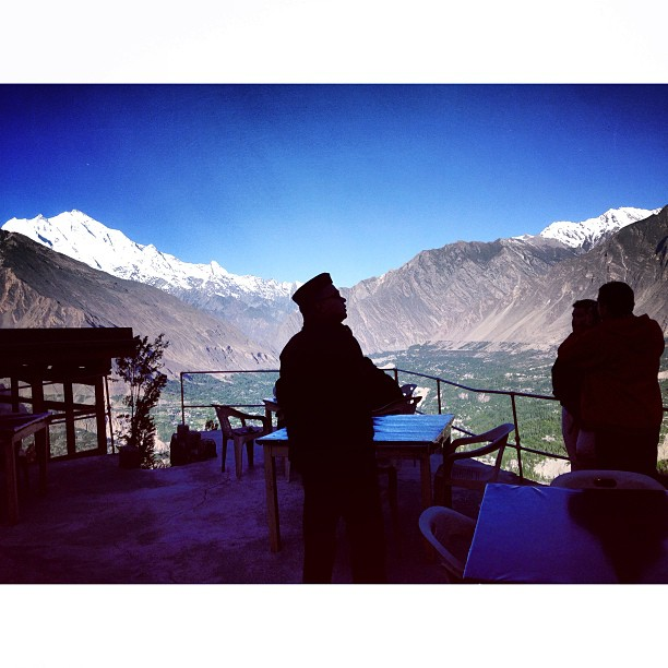 Kebesaran Ilahi | Mountain Peak View | Eagle Nest Hotel | Duikar, #Hunza Valley | Gilgit-Baltistan, Northern #Pakistan
