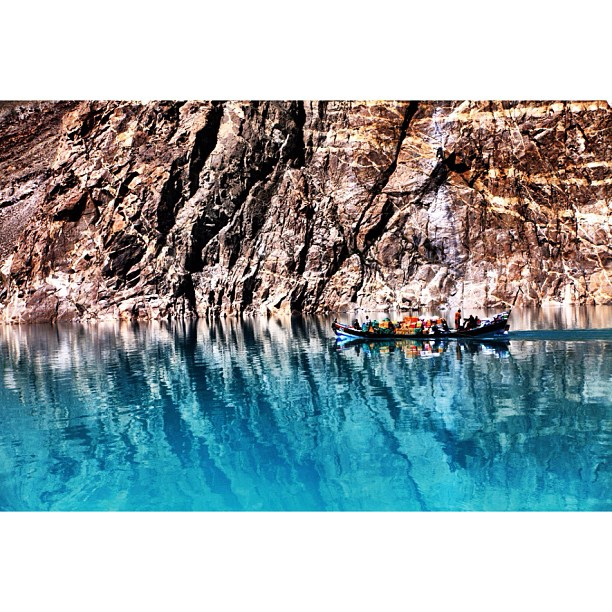 Another Reflection Series | Blocked #Karakoram Highway | #Attabad Lake, #Hunza Valley | Gilgit-Baltistan, Northern #Pakistan
