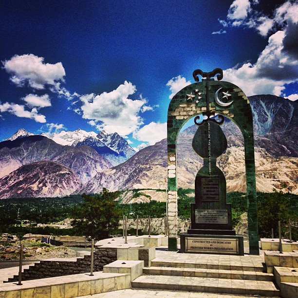 Karakoram Highway Monument | PAK-CHINA Monumental Relationship | After Pari Towards Gilgit | Karakoram Highway | Gilgit Baltistan, Northern Pakistan