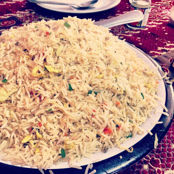 Egg Fried Rice | Dijamin Tak Kena Diarrhea :) | Midway Hotel | Besham Qila | Karakoram Highway | Shangla District | Indus Kohistan Region | Khyber Pakhtoonkhwa Province, Pakistan