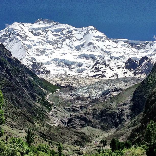 Rakaposhi Peak | Rakaposhi Base Camp View | Hunza Nagar | Hunza Valley | Gilgit-Baltistan, Northern Pakistan