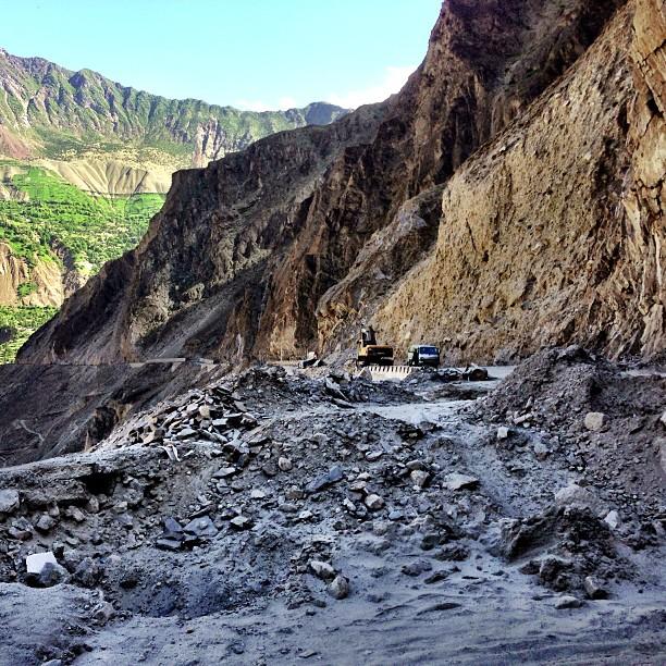 Landslide ! | Hunza Valley | Gilgit-Baltistan, Northern Pakistan