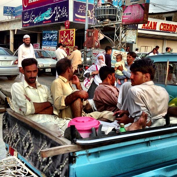 Kita Lepak Dulu ! | Abbottabad Town | iPhoneography | Karakoram Highway | Khyber Pakhtoonkhwa Province, Pakistan