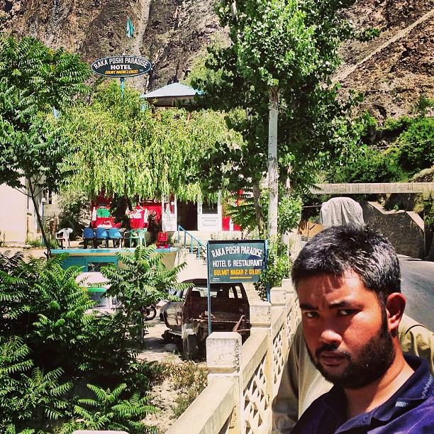 Muka Penat, Driving Lama Giler Tak Sampai2 Jugak Haha | Rakaposhi Base Camp View | Hunza Nagar | Hunza Valley | Karakoram Highway | Gilgit-Baltistan, Northern Pakistan