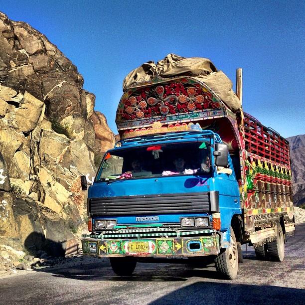 Street Art on Wheel | Near Tatta Pani | Karakoram Highway | Northern Pakistan
