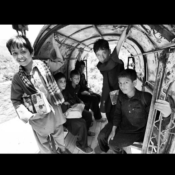 Bebudak Sekolah Ni Naik Chairlift Rileks Jer | Battagram | Karakoram Highway | Khyber Pakhtoonkhwa Province, Pakistan