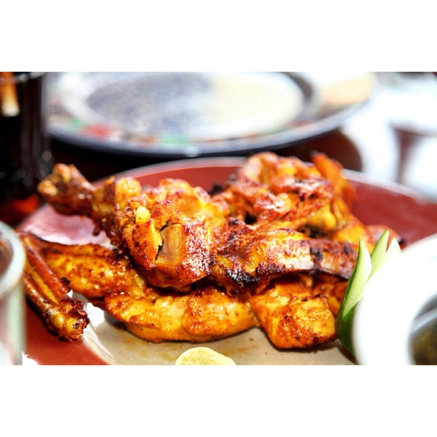 Chicken Tikka | Dine Like A Maharaja | Colourful | Luncheon Session 2011 | Des Pardes Restaurant | Saidpur Village | Islamabad, Pakistan