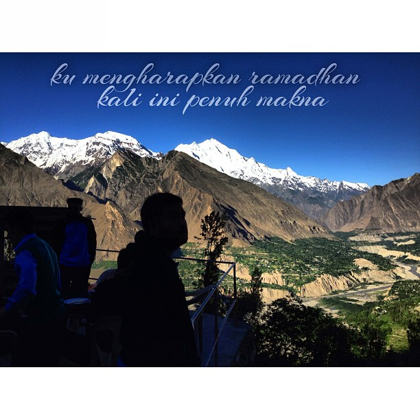 Ku Mengharapkan Ramadhan Kali Ini Penuh Makna | Agar Dapat Kulalui Dengan Sempurna | Lagu Man Bai et al | Mount Rakaposhi | Eagle Nest View Point | Duikar | Hunza Valley | Gilgit Baltistan | Northern Pakistan