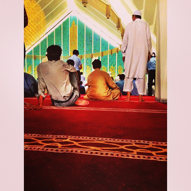 Dapat Karpet Baru Kita Raya Ni :) | #FaisalMasjid | #Islamabad, #Pakistan
