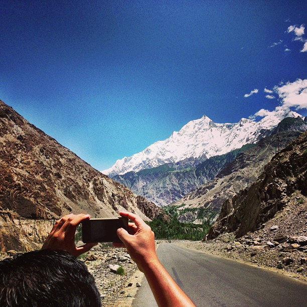 Framing | Rakaposhi Kinu Kutto View Point | Karakoram Highway | Hunza Valley | Gilgit-Baltistan, Northern Pakistan