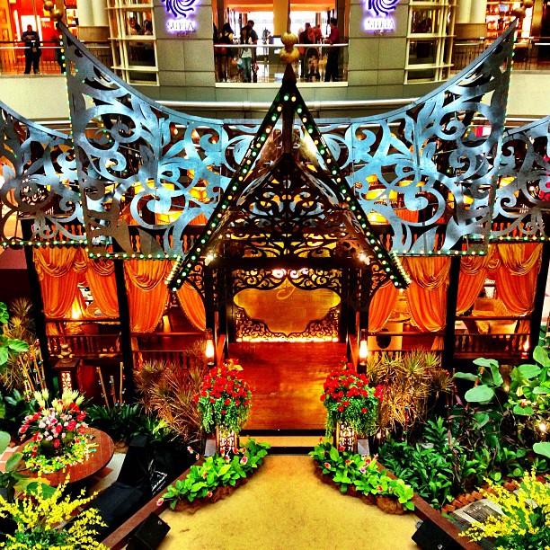 The Traditional Minangkabau House | Eid Decor | Suria KLCC | Kuala Lumpur, Malaysia