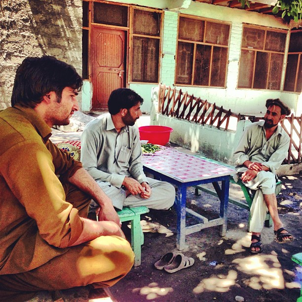 Doothpati Chai Session with the Locals | Charpoy Hotel | Pari Village, After Jaglot to Gilgit | Karakoram Highway | Gilgit Baltistan, Northern Pakistan
