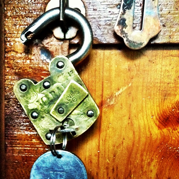 Classic & Big Padlock | Shangrila Indus View Hotel | Day 2 via the Karakoram Highway | Chilas | Northern Pakistan