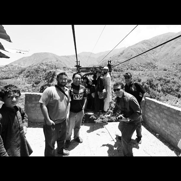 OK Chairlift Nak Berlepas | Cameraman Ready ! | Battagram | Karakoram Highway | Khyber Pakhtoonkhwa Province, Pakistan