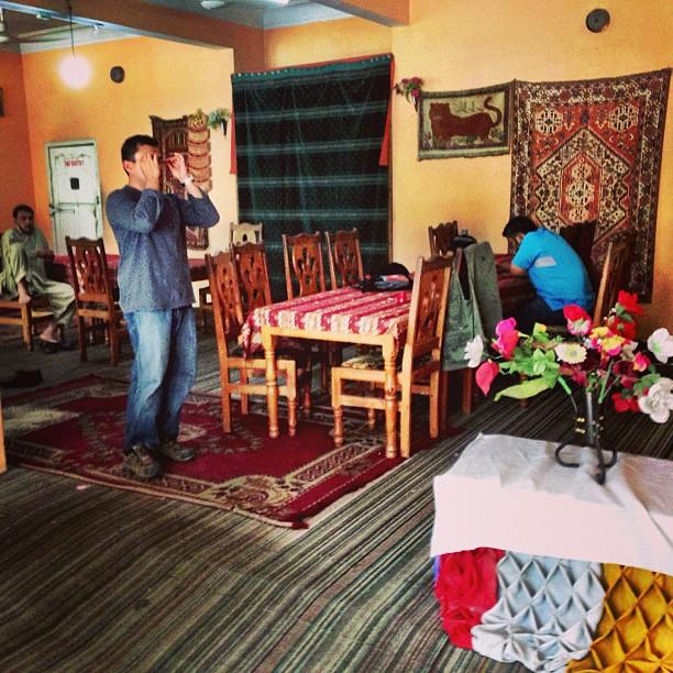 Colourful Lobby & Dining Area   Midway Hotel   Besham Qila   Karakoram Highway   Shangla District   Indus Kohistan Region   Khyber Pakhtoonkhwa Province, Pakistan