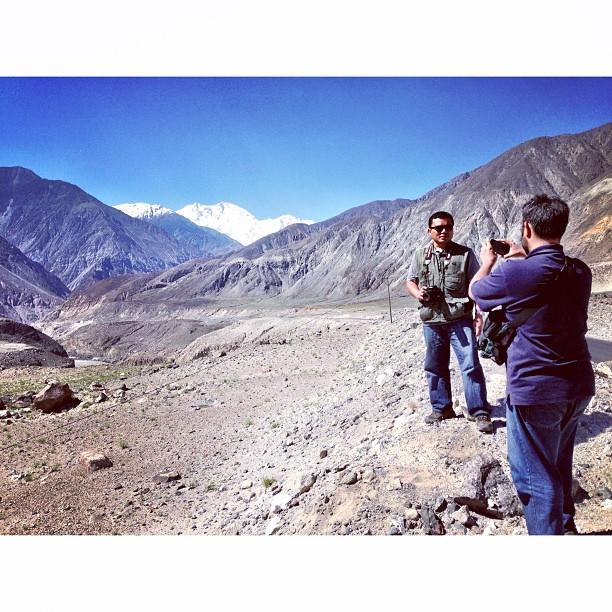 DSLR Menimbun, Last2 Shoot Pakai Handphone Jugak Yang Feel HaHa | Nanga Parbat View Point | Karakoram Highway | Near Thalichi | Gilgit Baltistan | Northern Pakistan