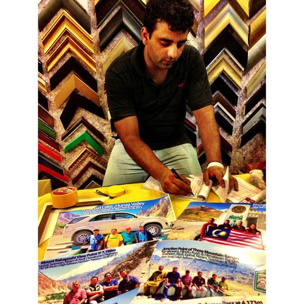 Can't Remember When Was The Last Time I Ever Printed My Photos :)   Framing the Frames   Rana Market F-7   Islamabad, Pakistan