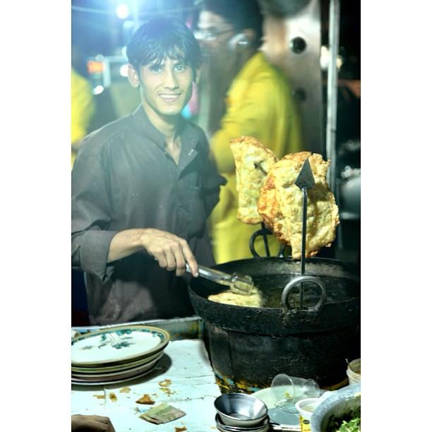 Penjual Karipap Besar ! Di Malam Hari | Ramadhan 2012 | Karachi Co | Islamabad, Pakistan