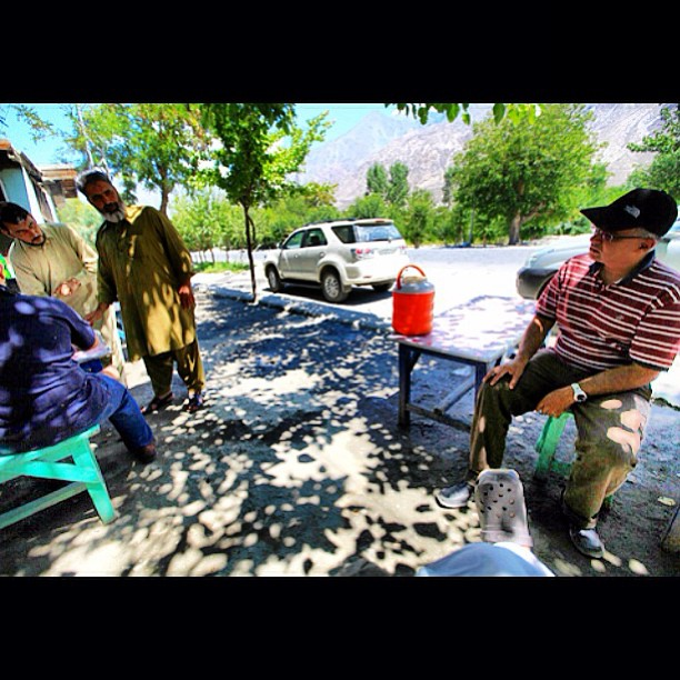 Doothpati Chai Break | Charpoy Serais | Pari Village | Karakoram Highway | Gilgit-Baltistan, Northern Pakistan
