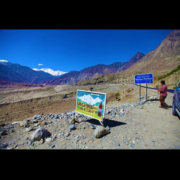 Nanga Parbat View Point | Karakoram Highway | Near Thalichi | Gilgit Baltistan | Northern Pakistan