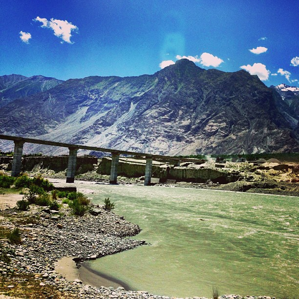 New Bridge Connecting Gilgit and Hunza Valley | Now It's 2.5 hours Drive Instead of 4-5 hours | Karakoram Highway | Gilgit Baltistan, Northern Pakistan