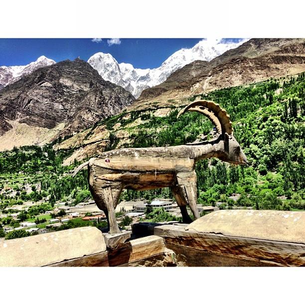 The Makhor | #Altit Fort at Altit Village | #Hunza Valley | #Gilgit-Baltistan Region | #iPhoneography | #Karakoram Highway | Northern #Pakistan