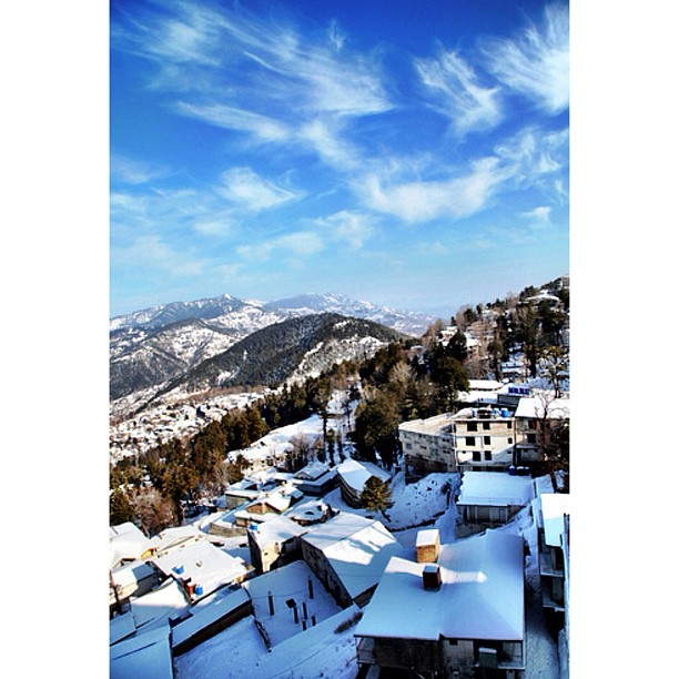 Good Morning ! | Throwback #Winter2012 | Mall Rd, #Murree | Punjab Province, #Pakistan