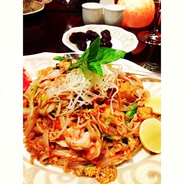 Paad Thai Yang Dah Rasa Mcm Char Kuetiaw Basah | Wild Rice Restaurant | #Islamabad, Pakistan