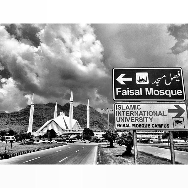Mega Mendung Di Angkasaraya | Faisal Masjid | Faisal Avenue | #Islamabad, Pakistan